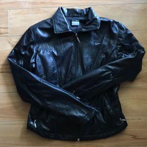 Thin leather like Nike Jacket